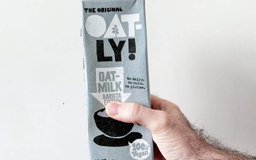 Oatly Barista Milk image